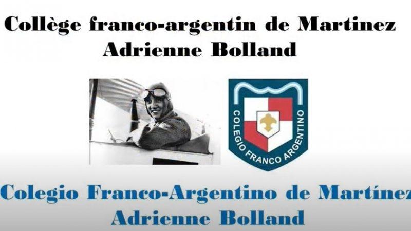 Protégé: Les élèves de CE2-CM1 du Lycée Martinez de Buenos Aires fêtent le 100° anniversaire de l'exploit d'Adrienne Bolland